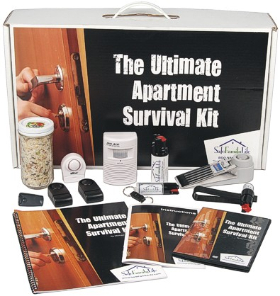 Apartment Security and Survival Kit