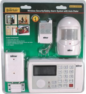 Cost home security system