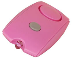 Attack Alarm in Pink