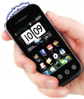 Smartphone Stungun in Hand