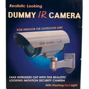 Dummy Camera In Housing With Flashing Led Tbotech