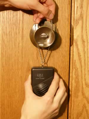 Alarm on Door