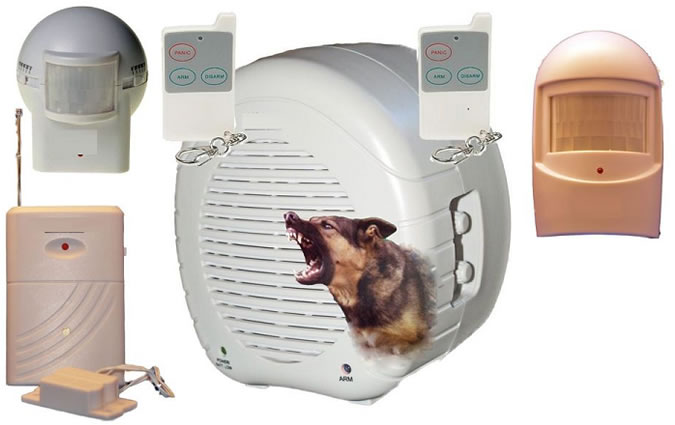 Fake Dog Barking Alarm