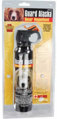 Bear Repellent on Dogs?
