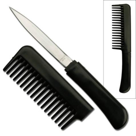 Hidden Comb Knife