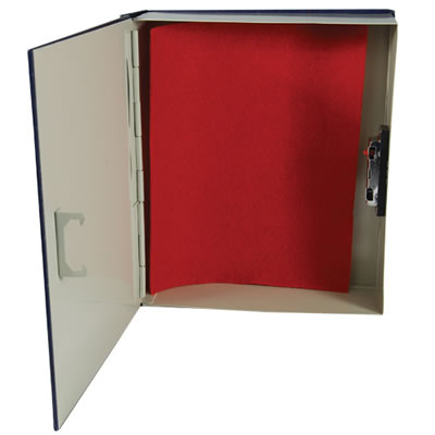 Book Safe with Locking Compartment