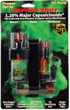 Tri-Pack Pepper Spray