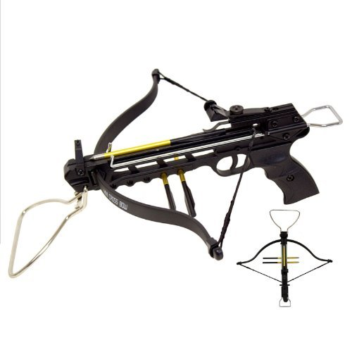 80lb pistol crossbow