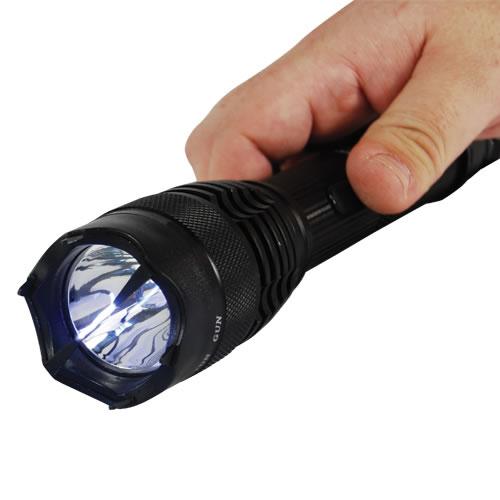 Flashlight Taser 15 Mil Volts And 4 7 Milliamps