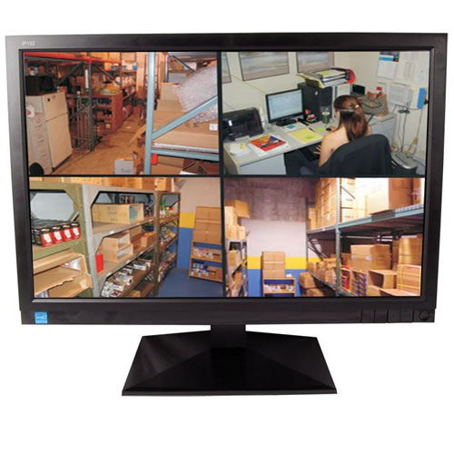Security Monitor High Resolution Wide Screen