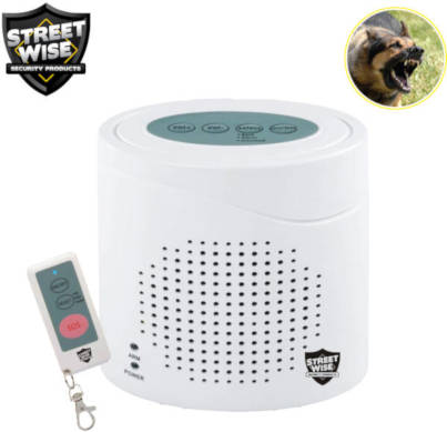 Dog Barking Security Device