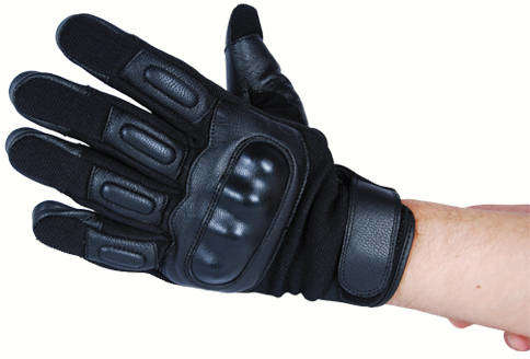Gloves with Hard Knuckles