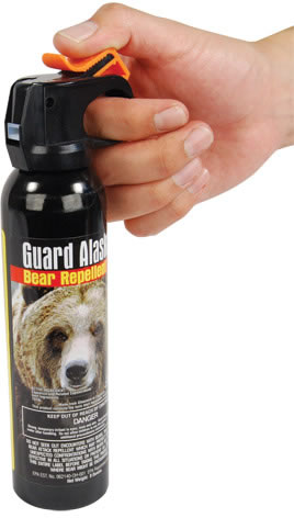 Bear Spray Hold