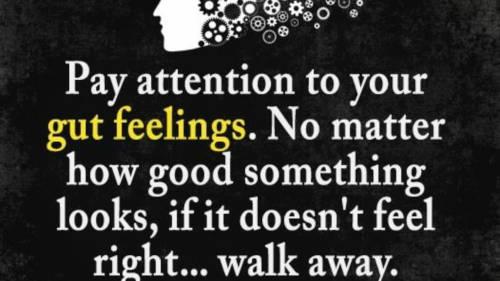 Trust Your Gut Feeling