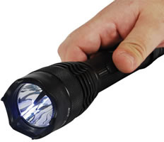 Hand Held Stun Flashlight