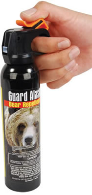 Carrying Bear Spray