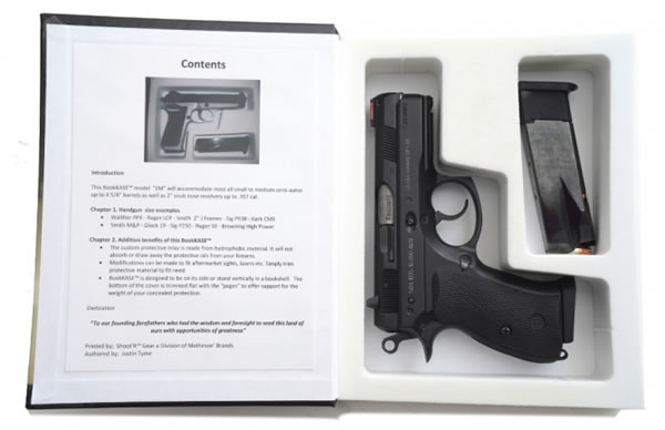 Hollowed Out Gun Safe Book