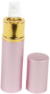 Lipstick Pepper Spray in Pink