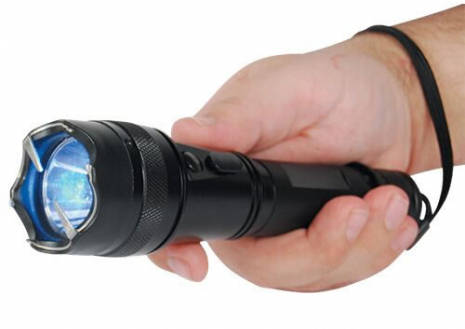 New York Stun Flashlight