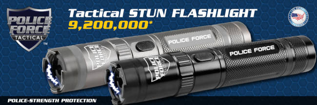 Police Stun Gun Flashlight