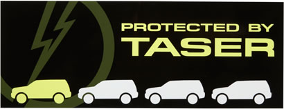 Protected by Taser