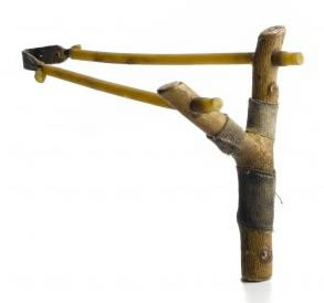 Sling Shot Made Of Wood