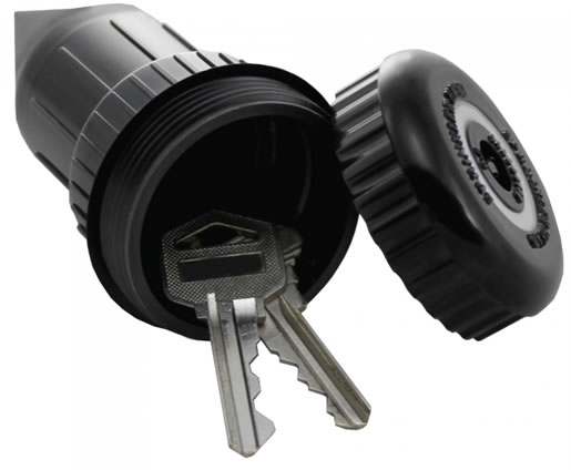 Sprinkler Head Key Hider - Open