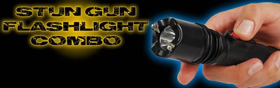 Combo Flashlight & Stun Gun