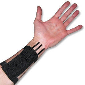 Throwing Spikes with Armband
